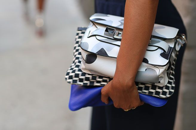 Proenza-Shouler-camo-clutch.-Street-style-at-New-York-fashion-week-SS14