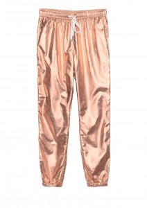 Fashion Graze & Other Stories - rosegold pants - 65 euro