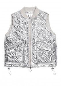 Fashion Graze & Other Stories - silver vest - 65 euro